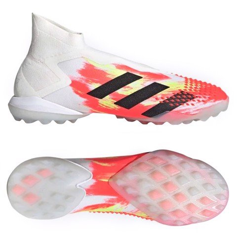 ADIDAS PREDATOR 20+ TF UNIFORIA - WHITE/CORE BLACK/ORANGE