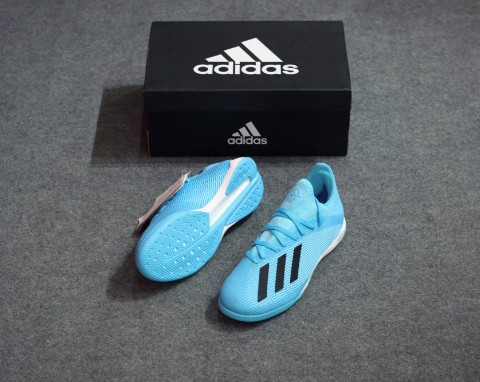 adidas X 19.3 IN Hard Wired - Bright Cyan/Core Black