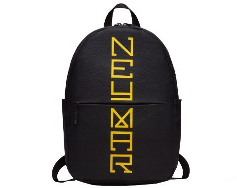 Nike NEYMAR Backpack Rucksack Training Football black/black/Amarillo