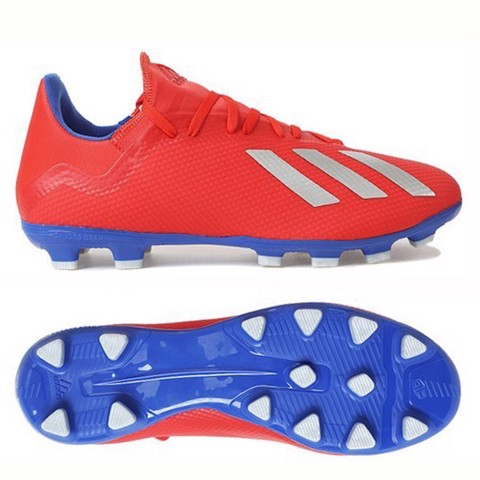 Adidas Tango X 18.3 HG EXHIBIT - Action Red/ Silver Metallic