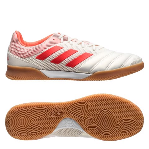 ADIDAS COPA 19.3 IC INITIATOR - OFF WHITE/SOLAR RED