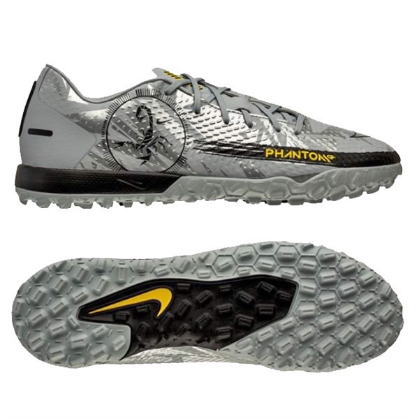 Nike Phantom GT Academy TF Scorpion - Wolf Grey/Metallic Silver/Black LIMITED EDITION