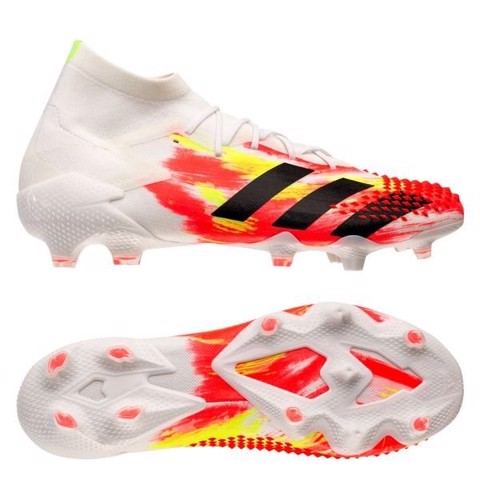 Adidas Predator 20.1 FG/AG Uniforia - Footwear White/Core Black/Pop