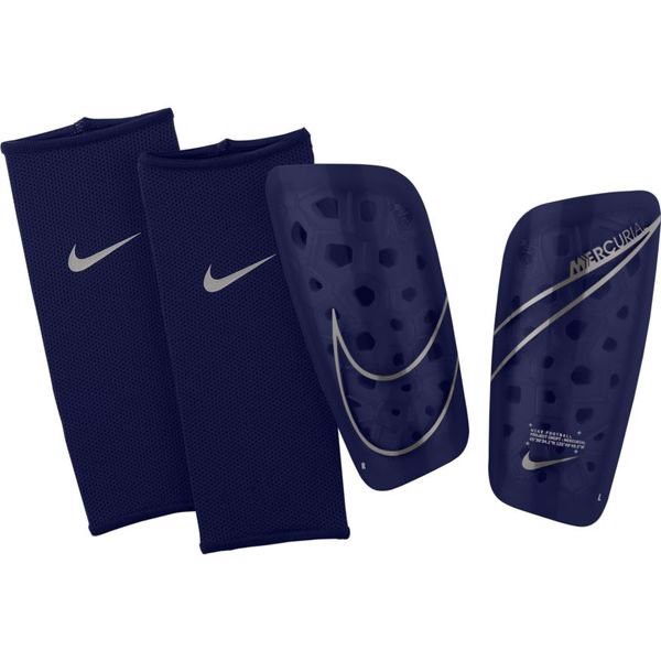 Nike Shin Pads Mercurial Lite Dream Speed - Blue Void/ Metallic Silver