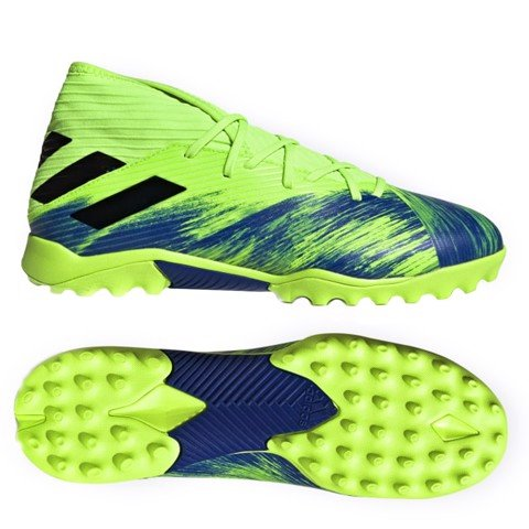 ADIDAS NEMEZIZ 19.3 TF UNIFORIA - GREEN/BLACK/BLUE