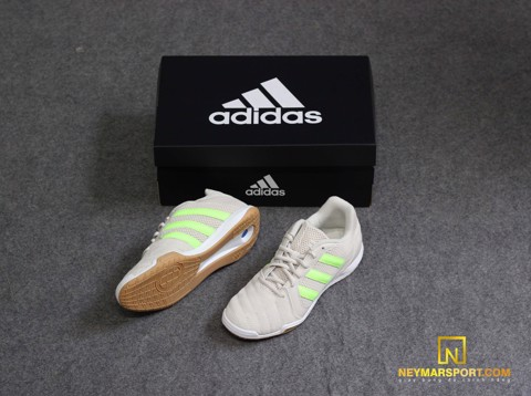 adidas Top Sala LUX - Alumina/Signal Green LIMITED EDITION