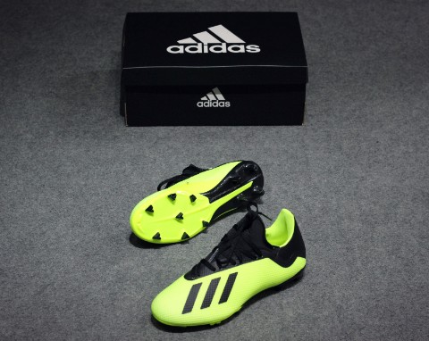 Adidas X Tango 18.3 FG TEAM MODE - Solar Yellow/ Core Black/ White