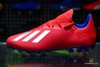 adidas X 18.3 AG Exhibit - Action Red/Silver Metallic/Bold Blue