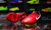 Nike TiempoX Proximo II IC Fire - University Red/White/Black