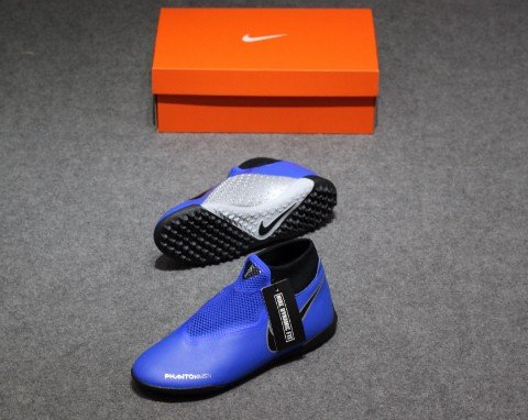 Nike Phantom Vision Academy DF TF Always Forward – Racer Blue/Black/Metallic Silver/Volt