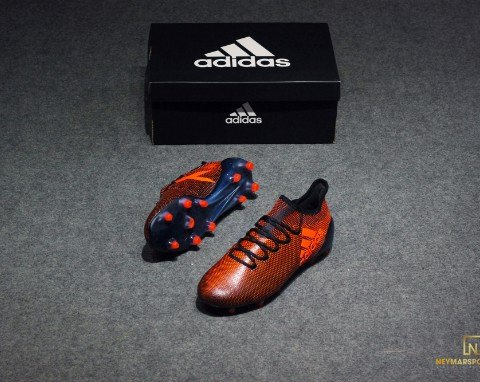 Adidas X 17.1 FG Core Black/ Solar Red/ Solar Orange