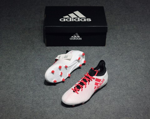 Adidas X Tango 17.3 FG Cold Blooded - Footwear White/Real Coral/Core Black