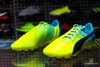 Puma evoPOWER 2.3 AG- Safety Yellow/ Black/ Atomic Blue