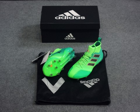 adidas ACE 17.1 Primeknit FG/AG Turbocharge - Solar Green/Core Black