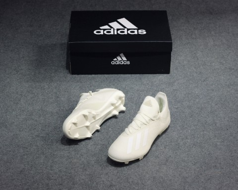 adidas X 18.3 FG Spectral Mode - Off White/Core Black