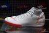 Nike Mercurial Superfly 6 Academy IC Raised On Concrete - Wolf Grey/Light Crimson