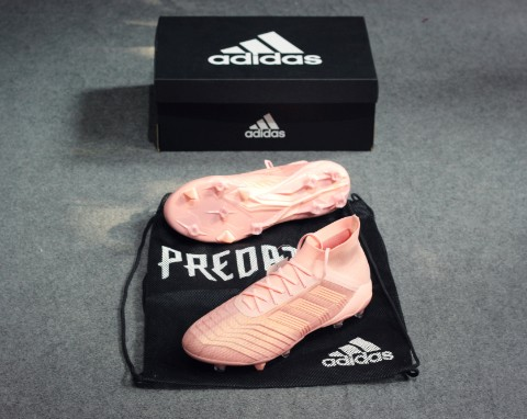 Adidas Predator 18.1 FG Spectral Mode - Clear orange / trace pink