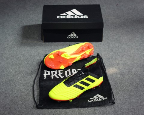 Adidas Predator 18.1 FG Energy Mode - Solar Yellow / Core Black / Solar Red