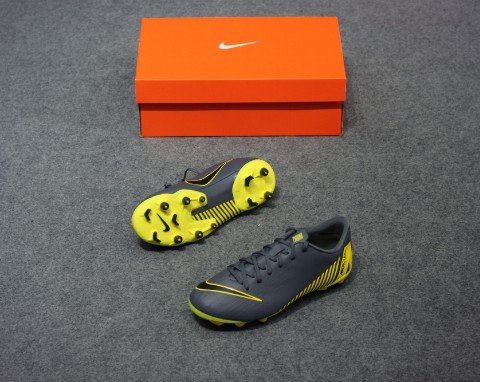 Nike Mercurial VaporX 12 Academy MG Game Over - Dark Grey/Yellow