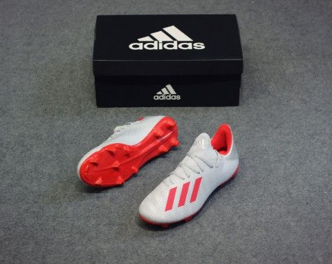 adidas X 19.3 FG 302 Redirect - Silver Metallic/High Risk Red