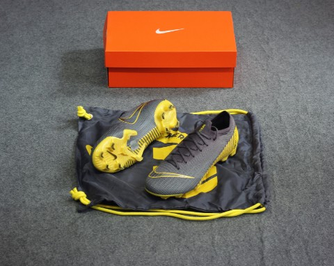 Nike Mercurial Vapor 12 Elite FG Game Over - Thunder Grey/Yellow