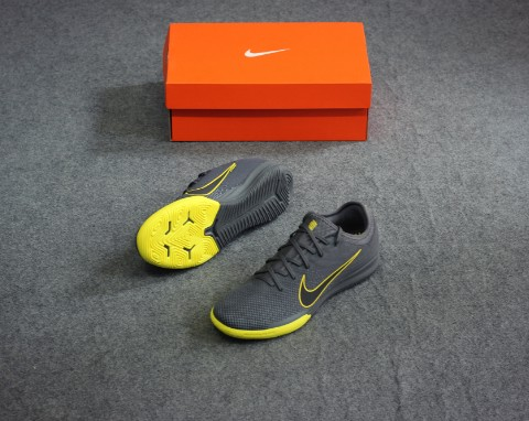 Nike Mercurial Vapor 12 Pro IC Game Over - Dark Grey/Yellow
