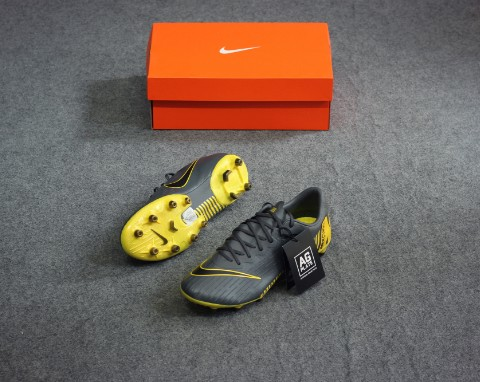 Nike Mercurial Vapor 12 Pro AG-PRO Game Over - Dark Grey/Yellow