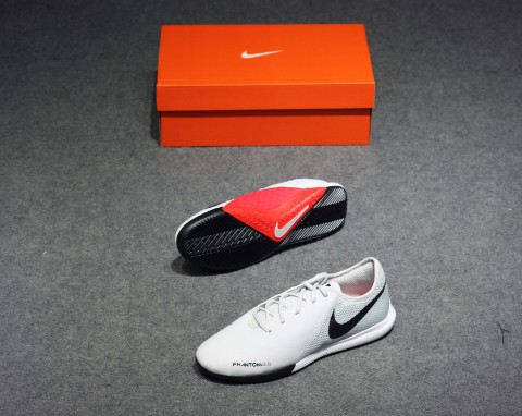 Nike Phantom Vision Academy IC Raised On Concrete - Pure Platinum/Light Crimson