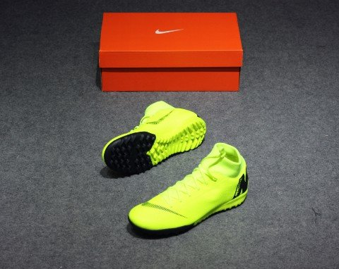 Nike MercurialX Superfly VI Academy TF ALWAYS FORWARD - VOLT/BLACK
