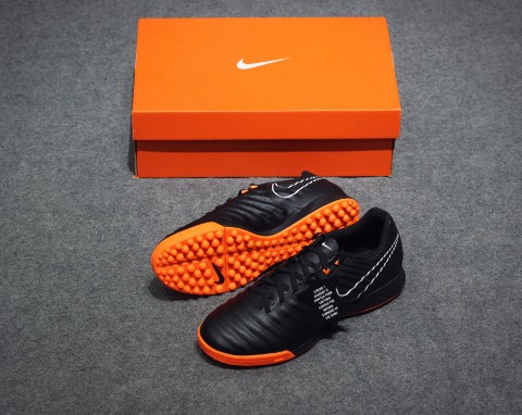 Nike Tiempo Legend 7 Academy TF Fast AF - Black/Total Orange/White