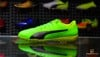 Puma evoPower vigor 4 TF - Green Gecko/ Puma Black/ Safety Yellow