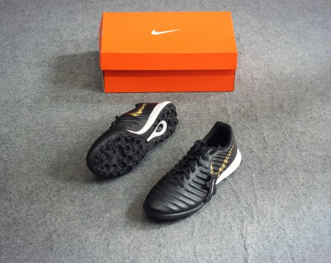 Nike Lunar Legend 7 Pro TF Black Lux - Black/Metallic Vivid Gold
