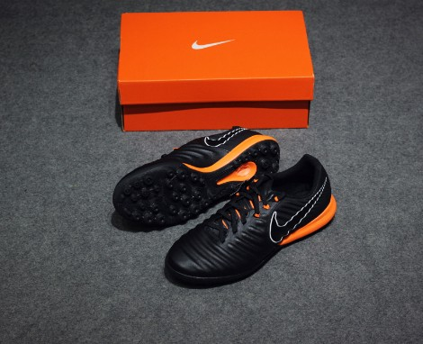 Nike Tiempo LegendX 7 Pro TF Fast AF - Black/Total Orange
