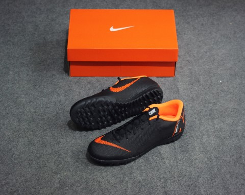 Nike Mercurial VaporX 12 Academy TF Fast AF - Black/Total Orange/White