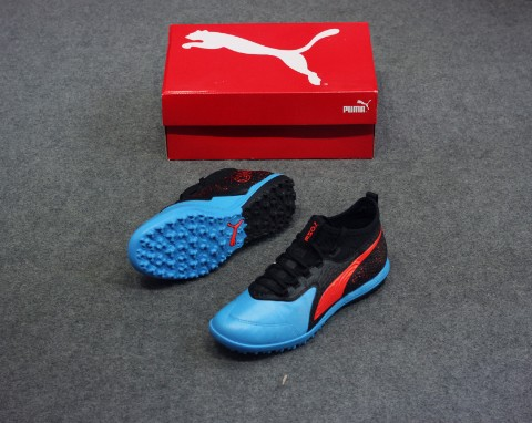 PUMA One 19.3 TF Power Up - Bleu Azur/Red Blast/PUMA Black