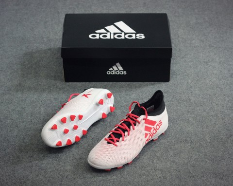 adidas X Tango 17.3 HG Cold Blooded - Footwear White/Real Coral/Core Black