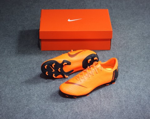 Nike Mercurial Vapor 12 Pro FG Fast AF - Total Orange/Black/Volt