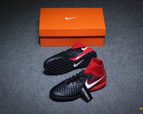 Nike MagistaX Onda II DF TF Fire - Black/White/University Red