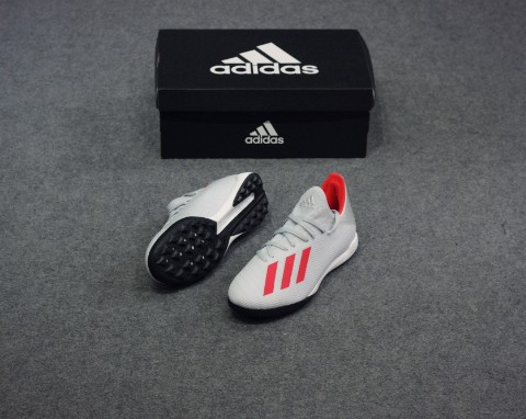 adidas X 19.3 TF 302 Redirect - Silver Metallic/High Risk Red