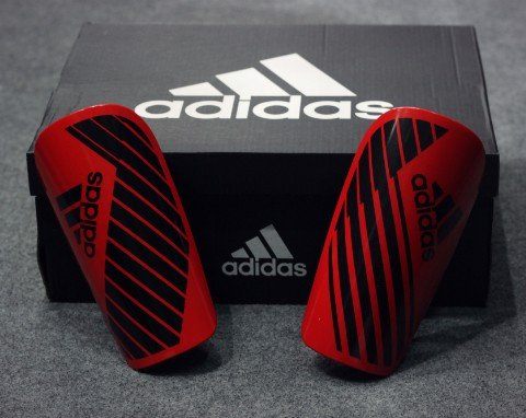 Adidas X Lesto Shin Guards - Black/Red