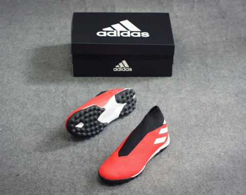 adidas Nemeziz Tango 19.3 TF Laceless 302 Redirect - Action Red/Footwear White