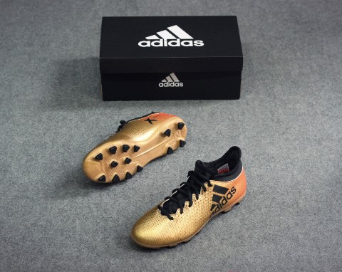 ADIDAS X TANGO 17.3 HG SKYSTALKER - TACTILE GOLD METALLIC/CORE BLACK/SOLAR RED