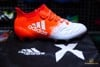 Adidas X 16.1 FG Leather White/Solar Red
