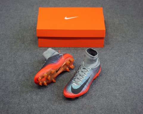 Nike Mercurial Superfly V CR7 Chapter 4 FG - Cool Grey/Orange