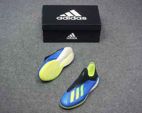 ADIDAS X TANGO 18+ BOOST ENERGY MODE - FOOTBALL BLUE/ SOLAR YELLOW/ CORE BLACK
