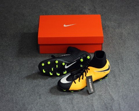 NIKE HYPERVENOM PHELON 3 DF FG LOCK IN. LET LOOSE. - LASER ORANGE/WHITE/BLACK