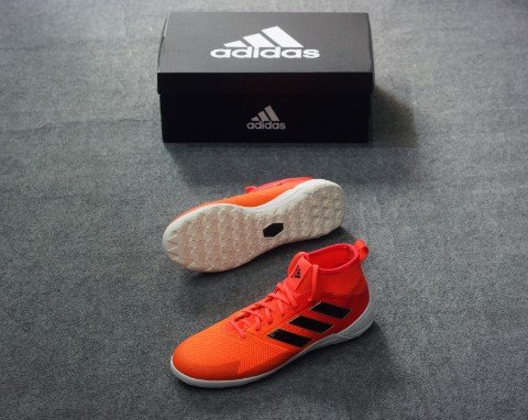 Adidas Ace Tango 17.3 IN - Solar Orange/ Core Black/ Solar Red