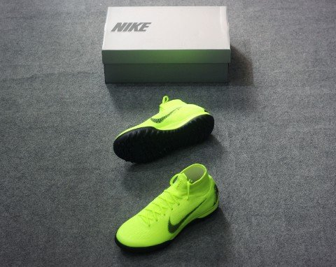 Nike Mercurial SuperflyX 6 Elite TF ALWAYS FORWARD - VOLT/BLACK