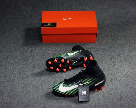 Nike Mercurial Veloce III DF AG-Pro - Black/White/Electric Green