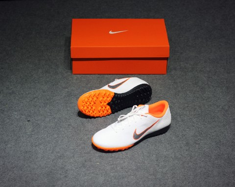 Nike Mercurial VaporX 12 Academy TF Just Do It - White/Cool Grey/Total Orange